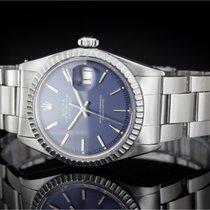 Rolex Datejust (36mm) Ref.: 1603 mit blauem Zifferblatt,...