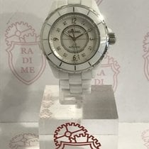 Chanel J12 White Madreperla and Diamonds Dial 38 mm H2423