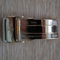 Breitling 18 mm Yellow Gold Folding Clasp faltschliesse buckle