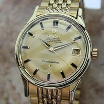 Omega 1960s Constellation 24Jewels Auto Cal 554 Swiss 35mm...
