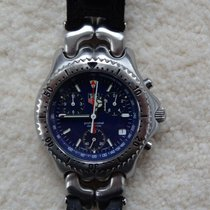 TAG Heuer SEL    LINK    S/EL chronograph with extremly rare...