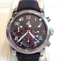 Girard Perregaux Ferrari chronograph gents steel watch