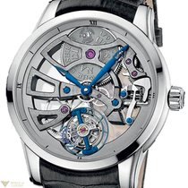 Ulysse Nardin Skeleton Tourbillon Manufacture 18K Solid White...