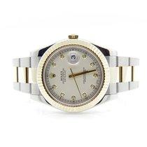 Ρολεξ (Rolex) 116333 Datejust 2 Factory Ivory Diamond Dial
