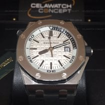 Audemars Piguet Royal Oak Offshore Diver Silver Dial