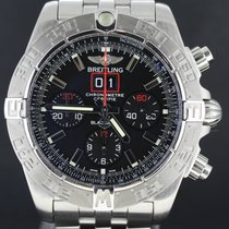 Breitling BlackBird Chronomat Steel Chrono, Full Set LIMITED...