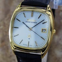 Seiko Grand Quartz 1980 Mens Made In Japan Vintage Precision...