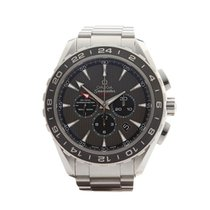 Omega Seamaster Aqua Terra GMT Chronograph Stainless Steel...