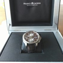 Maurice Lacroix Pontos Chronographe Beautiful Dark Brown...