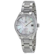 TAG Heuer Ladies WAR1311.BA0778 Carrera Quartz White Mother of...
