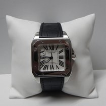 Cartier Santos 100 stainless steel medium size