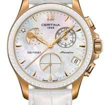 Certina DS First Lady Keramik Chrono Mondphase C030.250.36.106.00