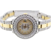 Rolex Datejust Women's 26mm White Mother Of Pearl Dial...