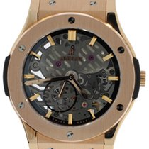 Hublot Classic Fusion Skeleton 18k Rose Gold
