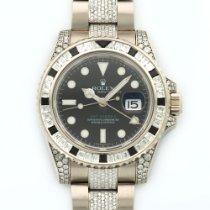 Rolex GMT-MASTER II White Gold Diamond 116759