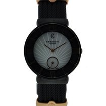 Charriol St. Tropez Stainless Steel Black Pvd Mop Dial On...