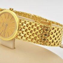 Piaget 18k Yellow Gold Oval Manual Wind Watch 9821 Caliber 9p2