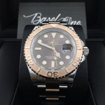 Rolex Yacht-Master 116621 brown dial rose gold
