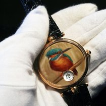 Angular Momentum Kingfisher Bird  38mm