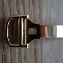 Cartier 16 mm YELLOW GOLD faltschliesse folding clasp deployant