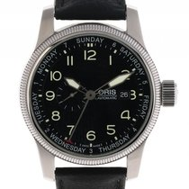 Oris Big Crown Small Second Pointer Date Stahl Automatik...
