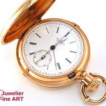 Jules Jürgensen 3-Deckel-Taschenuhr aus 18K Roségold -...