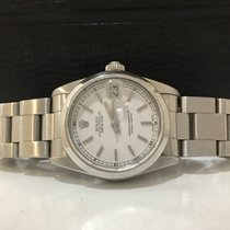 Rolex Oyster Perpetual Dateust Midsize White Dial