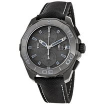 TAG Heuer Men's CAY218B.FC6370 Aquaracer Automatic Black...