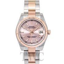 롤렉스 (Rolex) Datejust Lady 31 Pink/18k rose gold 31mm Oyster -...