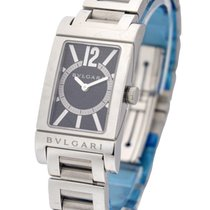 Bulgari RT39BRSS Rettangolo in Steel - on Steel Bracelet with...