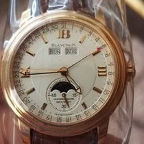 Blancpain Half-Hunter Leman 18K Rose Gold  Moonphase