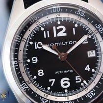 Hamilton Khaki Pilot Pioneer Alu Auto Black Arabic Nato Strap