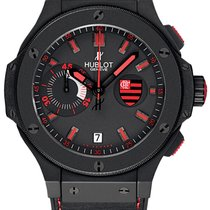 Hublot Flamengo Big Bang Black 44mm Men's Watch