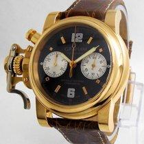 "Graham ""Trigger Chronofighter Chronograph"" Watch - 18k..."