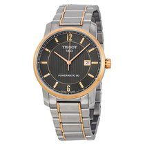 Tissot Men's T0874075506700 Titanium Powermatic80  Watch
