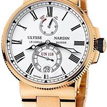 Ulysse Nardin Marine Chronometer Manufacture 1186-122-8M.40
