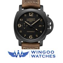 Panerai LUMINOR 1950 3 DAYS GMT AUTOMATIC CERAMICA - 44MM Ref....