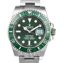 롤렉스 (Rolex) Submariner Green/Steel Ø40mm - 116610 LV