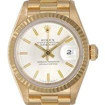 Rolex Ladies Rolex President Watch 79178 Silver Dial