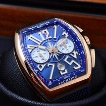 Franck Muller Vanguard YACHTING Chrono Rose Gold