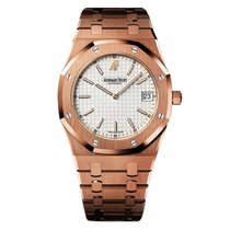 Audemars Piguet Royal Oak  White Dial Mens Watch  Mens Watch...