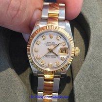 Rolex DateJust Ladies 179173 Mother Of Pearl Diamond Watch