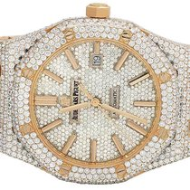Audemars Piguet Mens 41 MM  Royal Oak 18k Rose Gold with VS...