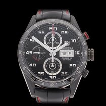 TAG Heuer Carrera Black DLC Coated Stainless Steel Gents...