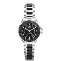 TAG Heuer Formula 1 Quartz Ceramic Black Ladies Watch WAH1314....