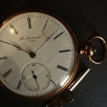 Men's pocket watch with key. H. Montandon, Locle.Approx. 1870