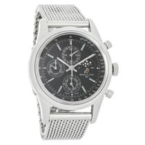 Breitling Transocean Mens Swiss Moonphase Watch A1931012/BB68