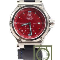 Anonimo Dino Zei Glauco steel red dial 11006 NEW