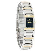 Maurice Lacroix Miros Integral 18K Gold SS Watch MI2011-YS-105...