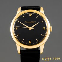 IWC Schaffhausen 18K Gold Cal.89 Manual 1955 YEAR MEN'S